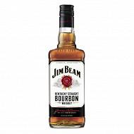 Jim beam whisky white 70cl 40%vol