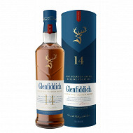 Glenfiddich bourbon barrel single malt whisky 14 ans 70cl 43%vol