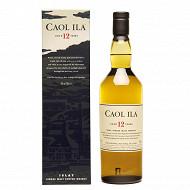 Caol Ila scotch whisky 12 ans 70cl 43%vol + etui