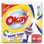 Okay essuie tout sans tube blanc 2=6