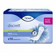Tena lady discreet 10 serviettes extra