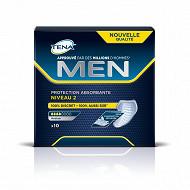 Tena men serviettes incontinence niveau2  x10