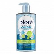 Bioré gel nettoyant rééquilibrant doux à l'agave bleur et au bicarbonate 200ml