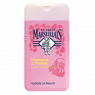 Le petit marseillais douche framboise pivoine 250ml