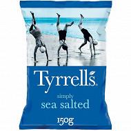 Tyrrell's chips lisses legerement salé 150g