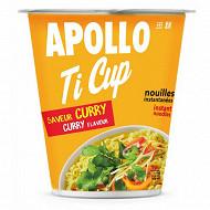 Apollo Nouille ti cup curry Ile Maurice 60g