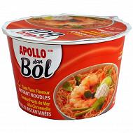 Apollo nouilles dan bol fruits de mer 85g
