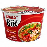 Apollo nouilles dan bol poulet 85g