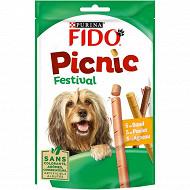 Fido snack pic nic festival boeuf poulet agneau 15 sticks 126g