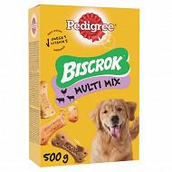 Pedigree boîte biscuits pour chien biscrok 500g
