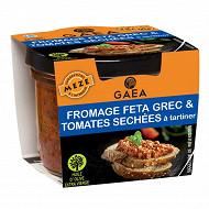 Gaea fromage feta grec et tomates séchées à tartiner 100g