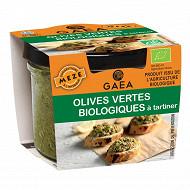 Gaea olives vertes biologiques à tartiner 100g