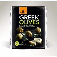Gaea greek olives vertes citron et origan 150g