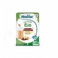 Modilac céréales bio cacao vanille 250g