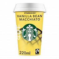 Starbucks boisson lactée au café arabica et saveur vanille 220 ml