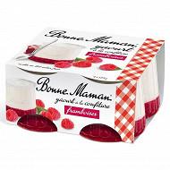 Bonne Maman yaourt à la confiture de framboises 4x125g
