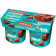 Andros délice végétal chocolat 2x120g