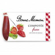 Bonne Maman compotée fraise basilic 2x130g