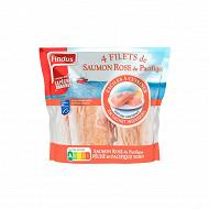 Findus 4 filets saumon rose du Pacifique MSC 400g