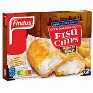 Findus colin d'Alaska façon fish & chips aux notes de malt 240g