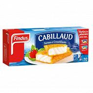 Findus cabillaud panés x10 510g