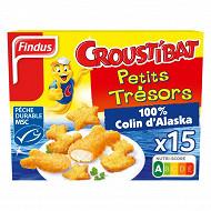 Findus croustibat petits trésors 450g