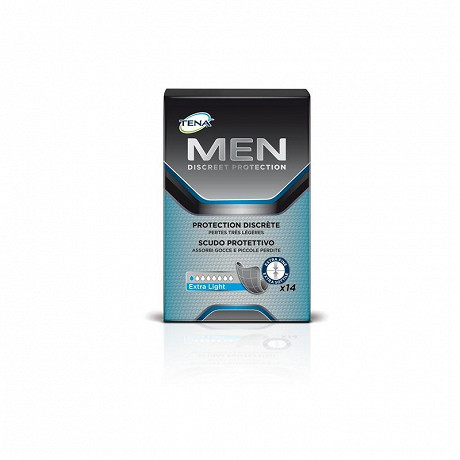 Tena Men protections incontinence extra light x14
