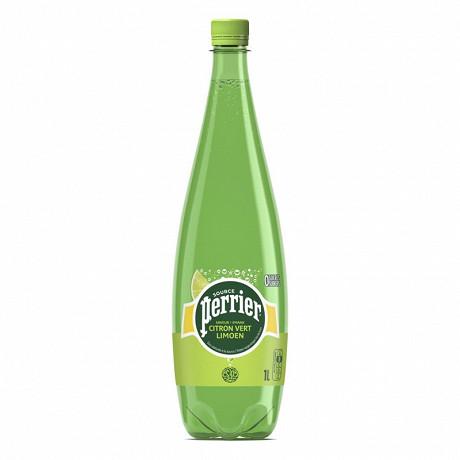 Perrier eau gazeuse aromatisée citron vert 1L