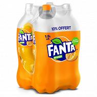 Fanta orange pet 4x1.5l 10% offert