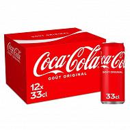 Coca-cola boite 12x33 cl sleek