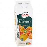 Cora pur jus multifruits brique 2l