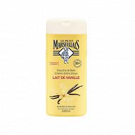 Le Petit Marseillais gel douche & bain lait de vanille 650ml
