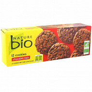 Nature bio cookies tout chocolat bio 200g