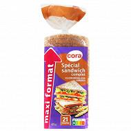 Cora pain de mie spécial sandwich complet maxi format 825g