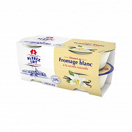 Alsace Lait dessert fromage blanc vanille naturelle 4x125g