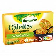 Bonduelle galettes de courgettes et petits légumes 300g