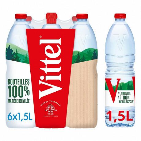 Vittel eau minérale naturelle 6x1,5L