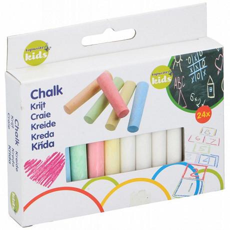 Boîte de 24 craies multicolore