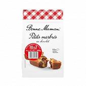 Bonne Maman petits marbrés au chocolat 10+2 offerts 360g