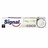 Signal Integral dentifrice antibactérien Nature Element blancheur coco 75 ml