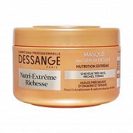 Dessange Masque anti-dessèchement nutri extrême richesse 250ml