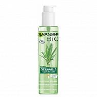 Skinactive bio gel nettoyant citronnelle 150ml cosmosnat