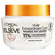 Elseve masque huile extraordinaire pour coco 310ml