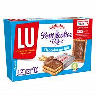 Petit ecolier chocolat au lait pocket 250g