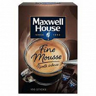 Maxwell House sticks x100 180g