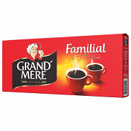 Grand mere cafe moulu famillial 4x250g