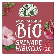 Eléphant thé bio hibiscus 20 sachets 38gr