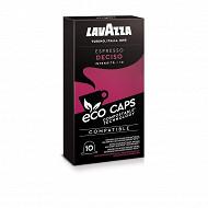 Lavazza capsules espresso deciso type nespresso x 10 53g