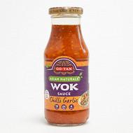 Go-tan sauce wok chili ail 240 ml