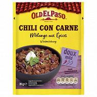 Old el paso mélange d'épices pour chili 39g